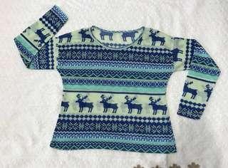 Winter longsleeve sweater
