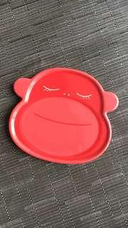 Starbucks Korea monkey plate