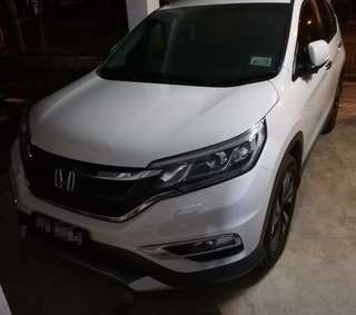 SAMBUNG BAYAR/CONTINUE LOAN   HONDA CRV 2.4 FULLSPEC 4WD YEAR 2017 MONTHLY RM 1580 BALANCE 8 YEARS ROADTAX AUGUST 2018 LEATHER SEAT TIPTOP CONDITION  DP KLIK wasap.my/60133524312/crvnew