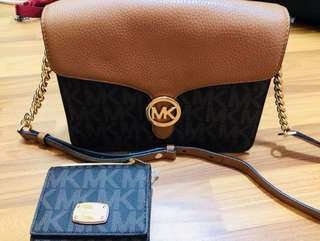 Original MK bag include wallet