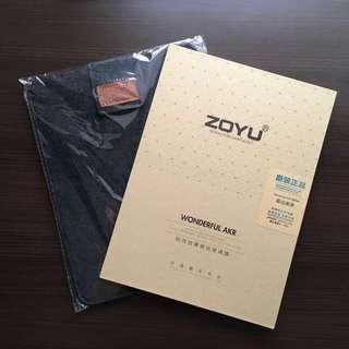 iPad 耐刮防爆鋼化玻璃膜(Mon 貼) + 絨布保護袋