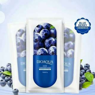 BIOAQUA JELLY MASK BLUEBERRY PER SACSET