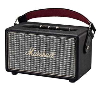 Marshall Kilburn Portable Speakers, Black