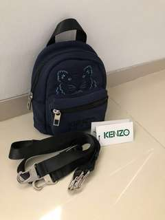 Authentic KENZO Tiger Mini BackPack 3 ways