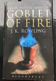 Harry Potter and the Goblet of Fire book #J. K. Rowling