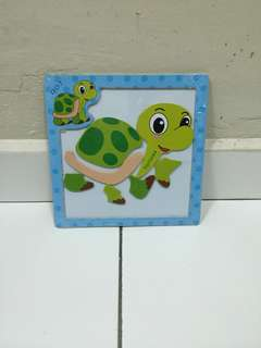 Magnetic Jingsaw Puzzle - Turtle