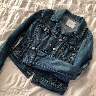 Aritzia Short denim jacket