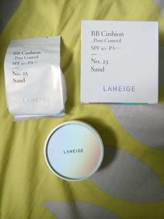 Free shipping! Laneige pore control BB cushion
