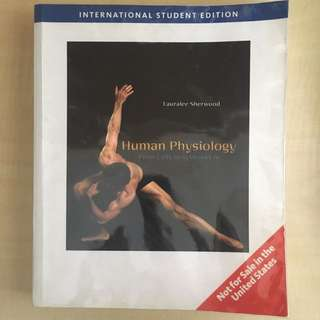 Human Physiology From Cells To Systems (7th Edition)