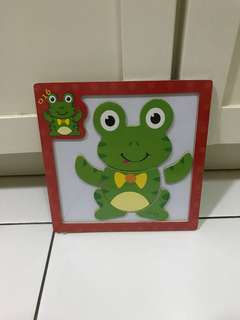 Magnetic Jingsaw Puzzle - Frog