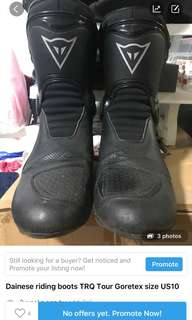 Dainese touring boots