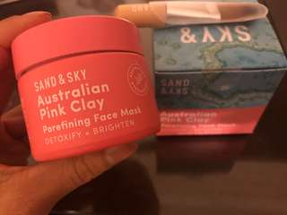 Sand and sky clay mask