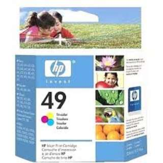HP 49 Tri-color Original Ink Cartridge
