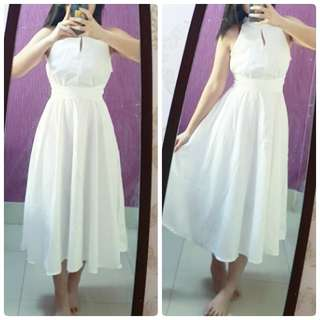 [NEW] White Long Dress