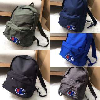 Champion backpack 5️⃣ colours