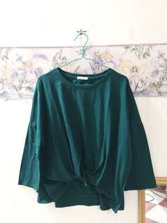 Cotton On - Green Bow Tshirt