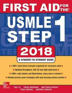 First Aid For  The USMLE Step 1 2018 PDF Copy