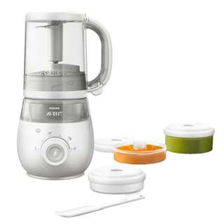 Philips Avent 4 In 1 Healthy Baby Food Maker Steamer