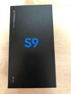 Samsung S9 Black brand new