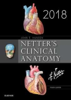Netter's Clinical Anatomy 2018 PDF Copy