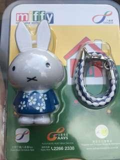 Miffy藍色生日版八達通(全新)