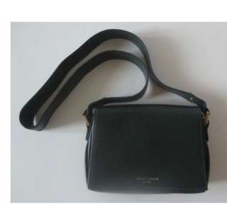 全新 Anteprima Shoulder Bag 真皮 深墨綠色袋