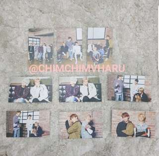 Full Set of BTS × Mediheal official photocard