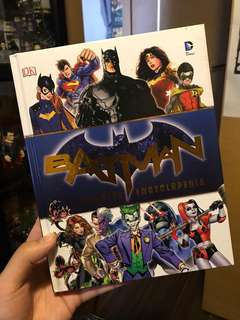 DC Batman character encyclopedia 蝙蝠俠角色書