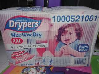 Drypers Wee Wee Dry XXL (Tape)