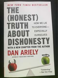 Brand New! The (Honest) Truth About Dishonesty - Dan Ariely