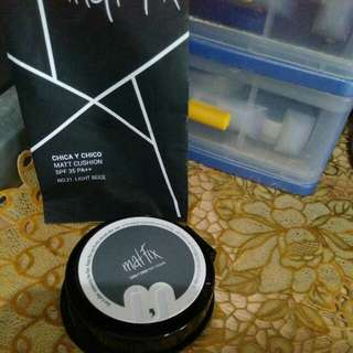Cushion Matt Fix spf50, bedak