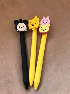 Tsum Tsum Black Gel Pen
