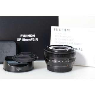 New Fujifilm Fujinon XF 18mm F/2.0