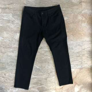 Stretch Skinny Black Uniqlo Pants