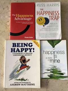 Non-fiction books on happiness