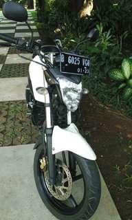 Yamaha byson 2013, Surat lengkap, pajak hidup, baru ganti plat nomer