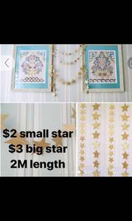 Star for decoration 2M length