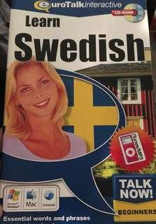 Learn Swedish cd-rom