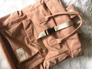 Rootote inspired cose backpack (old rose)