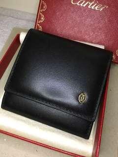 [全新] Cartier 真皮散子包