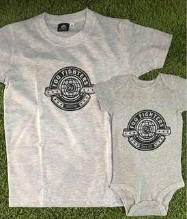 Babies / kids band onesie / romper / t-shirt