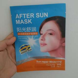 One spring after sun mask