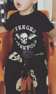 Avenged Sevenfold t-shirt / romper