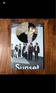 🚚 seventeen director's cut sunset ver album