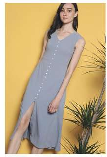 Like OSN our second nature: HH hollyhoque bora button down midi dress