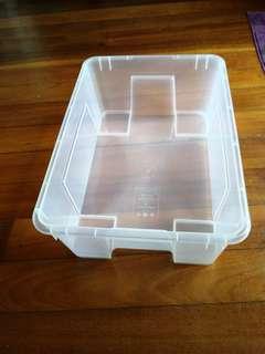 Transparent Plastic Storage Boxes
