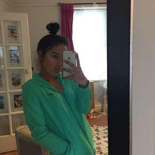 Aqua Nike jacket