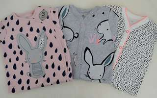 Sleepsuits pack of 3