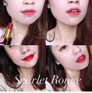 Tom Ford lipstick (scarlet rouge)