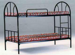 Bed Frame Double Deck - Black Painted.  SOLD 😇